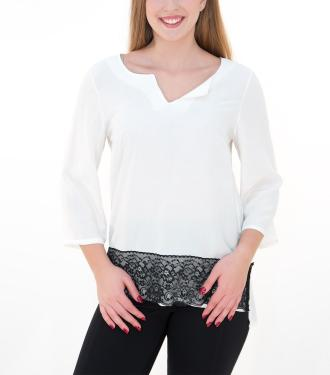 Σύνθεση 100% Polyester Χρώμα Λευκό Μανίκια Μακριά Ελληνικής Κατασκευής 3b3ca62c07d