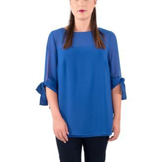 35af90912bd2 Σύνθεση 98% Polyester 2% Spandex Χρώμα Μπλε ρουά Μανίκια 1