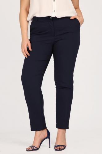 Eλαστικό παντελόνι από ύφασμα τύπου καμπαρντίνα b74216df524