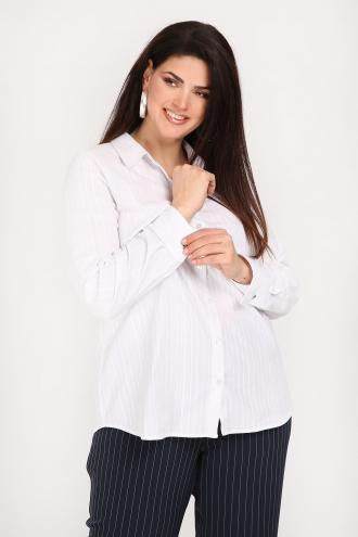 5b0e8c7d5348 Ριγέ πουκάμισο από υψηλής ποιότητας βαμβάκι. Mε πατιλέτα με κουμπιά