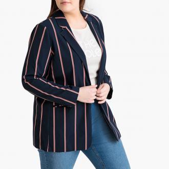 6a739ce0a61a Ριγέ Σακάκι- Αυτό το ριγέ σακάκι φοριέται τέλεια με jeans όλη την ημέρα. Με