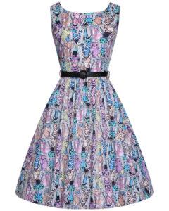 modern vintage φόρεμα funky Cats & Κitten