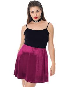 Curvy μίνι φούστα