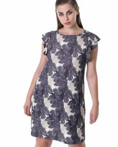 Curvy μίνι φόρεμα με print