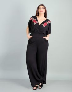 Ολόσωμη φόρμα με φλοράλ μοτίφ