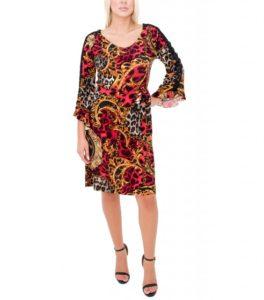 Εντυπωσιακό φόρεμα με μοντέρνα σχέδια