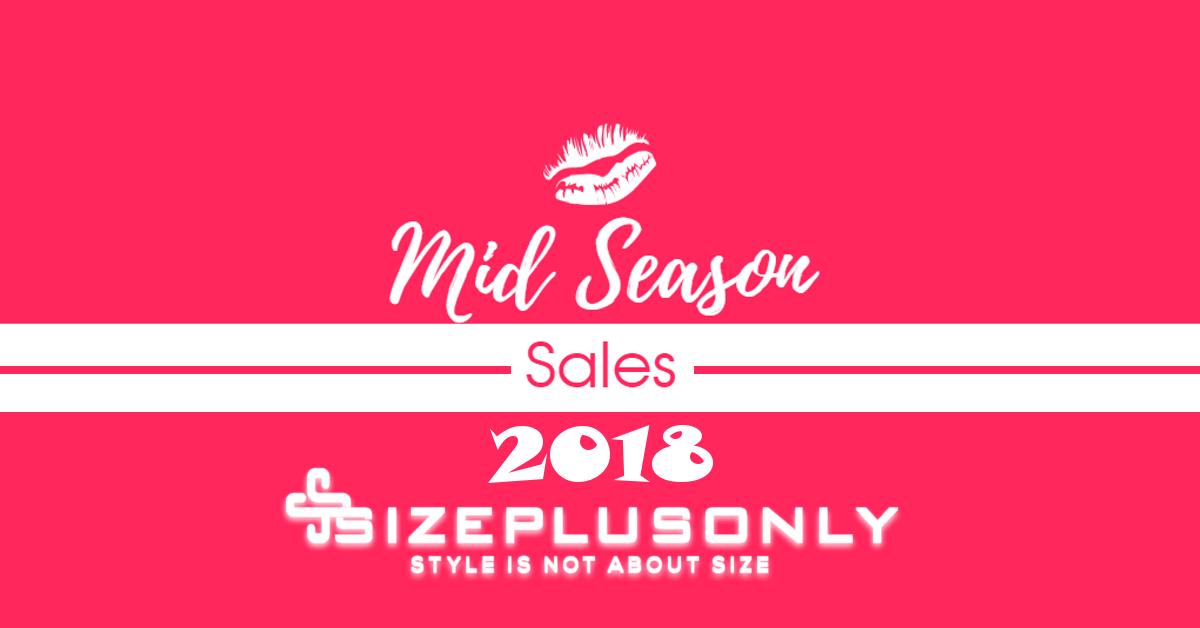 Mid-Season Sales 2018 | Plus Size Fashion