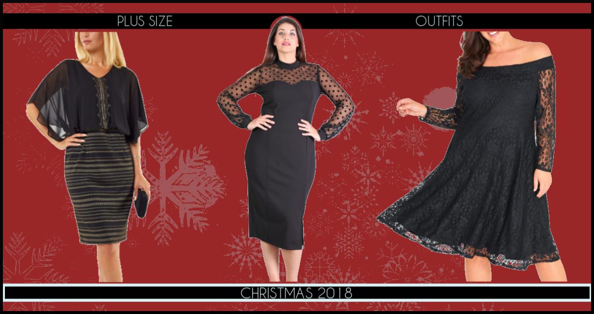 Χριστουγεννιάτικα Plus Size Φορέματα 2018